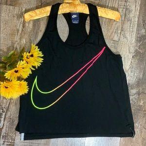 Nike | Black Rainbow NIKE Racerback Tank Top Shirt
